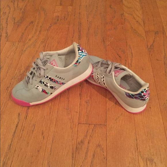 92e9fe94f adidas Shoes - Women s Girls Adidas Originals Samoa J Sneakers